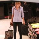 Taylor Swift did a little shopping for undergarments yesterday, April 25, in Los Angeles