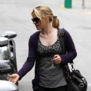Anna Paquin And Her Mother Leaving Hugo's Restaurant In West Hollywood 07-07-2010