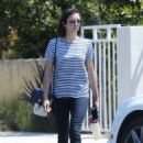 Nina Dobrev in Jeans out in LA - 454 x 649