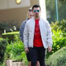 Joe Jonas with Sophie Turner – Seen out in Los Angeles