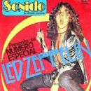 Robert Plant - Sonido Magazine Cover [Mexico] (August 1983)