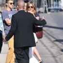Jennifer Aniston At Jimmy Kimmel Live In Hollywood