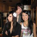Hannah Beth and Trace Cyrus