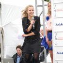 Kristen Bell - Hosting Marshalls Live Spring Fashion Show, 28 April 2010