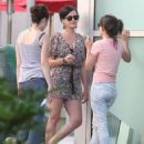 Katy Perry was spotted earlier in the afternoon heading into Arclight Cinemas in Hollywood with friends to catch a flick. (August 11)