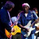 Guitarist Mick Taylor of The Rolling Stones and Buddy Guy perform live during The Experience Hendrix Tour on October 17th, 2007