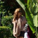 Demi Lovato Leaving Her Home & Heading To Disney Studios In Burbank, 2010-09-23