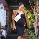 Christina Milian at The Ivy in West Hollywood