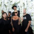Amber Rose attends the Kat Von D Beauty Fragrance Launch Press Party #SAINTANDSINNER at Hollywood Roosevelt Hotel in Hollywood, California - June 20, 2017 - 454 x 303