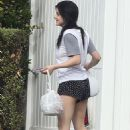 Ariel Winter – Spotted while grabs her Door Dash order in Studio City