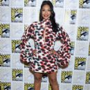 Candice Patton – 'The Flash' Press Line at Comic Con San Diego 2019 - 454 x 603