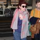 Lena Headey  – Arrives at LAX Airport in LA
