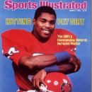 Herschel Walker - Sports Illustrated Magazine Cover [United States] (7 March 1983)