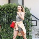 Behati Prinsloo – Arrives at Carasoin Day Spa in West Hollywood - 454 x 681