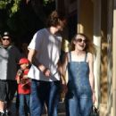 Dakota Fanning and Jamie Strachan out in LA - 454 x 681