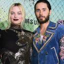 Margot Robbie and Jared Leto at 'Suicide Squad' Premiere in New York 08/01/2016
