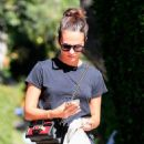 Alicia Vikander – Out for a walk in West Hollywood