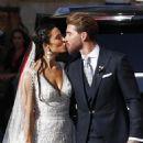 Sergio Ramos and Pilar Rubio Wedding - 454 x 681