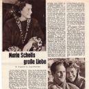 Maria Schell - Mein Film Magazine Pictorial [Austria] (January 1956) - 454 x 619