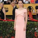 Felicity Jones arrives The 21st Annual Screen Actors Guild Awards (2015)
