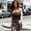 Charisma Carpenter - Somewhere In London - July 13, 2010