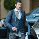 Kris Humphries seen leaving the Montage Hotel in Beverly Hills California on January 27, 2015