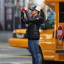 Sarah Silverman In Jeans Out In New York