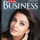 Aishwarya Rai Bachchan - Outlook Business Magazine Cover [India] (14 October 2016)