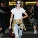 Candice Swanepoel Los Angeles International Airport