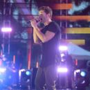 Jake Miller performs on stage during the 2014 MTV EMA Kick Off at the Klipsch Amphitheater on November 9, 2014 in Miami, Florida