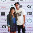 Jenna Ushkowitz and Michael Trevino - 419 x 610