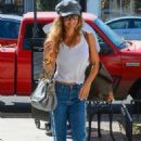 Brooke Burke in Jeans – Out in Los Angeles - 454 x 680