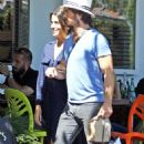 Nikki Reed and Ian Somerhalder Out in Los Angeles - 454 x 721