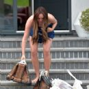 Charlotte Crosby – Spotted at her house in Sunderland - 454 x 579