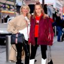 Christie Brinkley with her daughter arriving to the Knicks vs Heat Basketball game in NYC - 454 x 594