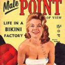 Marian Stafford - Male Point Magazine Cover [United States] (November 1957)
