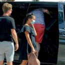 Alicia Vikander with Michael Fassbender – Spotted on their Spanish getaway to Ibiza