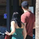 Ariel Winter in Green Mini Dress – Shopping with her boyfriend in Studio City