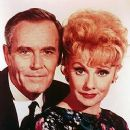 "Henry Fonda and Lucille Ball In The 1968 Film ""Yours,Mine and Ours"
