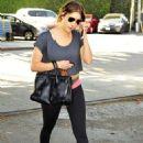 Ashley Benson leaving the gym in LA (January 22)