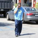 Adam Sandler is seen out and about in Brentwood CA March 24, 2017 - 454 x 359