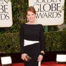 Julianne Moore: arrives at the 70th Annual Golden Globe Awards held at The Beverly Hilton Hotel