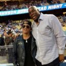 Slash with Magic Johnson