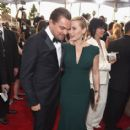 Leonardo DiCaprio and Kate Winslet At The 22nd Annual Screen Actors Guild Awards (2016) - 414 x 600