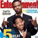 Chris Rock - Entertainment Weekly Magazine [United States] (21 October 2005)