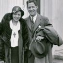 Fay Webb and Rudy Vallee
