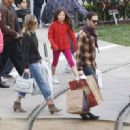 Kate Bosworth out doing some last minute Christmas shopping at the Americana in Glendale, Ca December 22, 2012