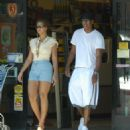 Beyoncé Knowles - Beyonce And Jay-Z Cruise Around In LA 2007-09-03