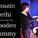 Amazin Lethi practising Wing Chun on the Wooden Dummy