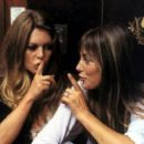 Brigitte Bardot and Jane Birkin - 454 x 255